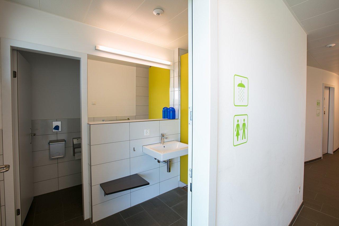 Ausstattung - Sanitäre Anlagen Seehorn Frauen WC